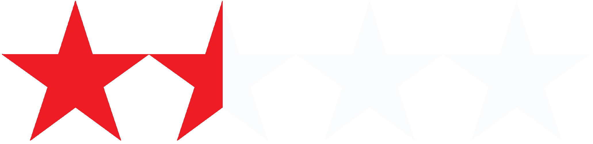 1½ Stars